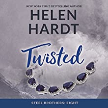 Twisted: The Steel Brothers Saga, Book 8 Audiobook by Helen Hardt Narrated by Aiden Snow, Lucy Rivers