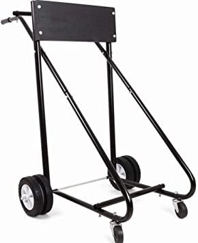 Motor Cart Dolly 315 LBS Outboard Boat Motor Stand Carrier Cart Dolly Storage Pro Heavy Duty New