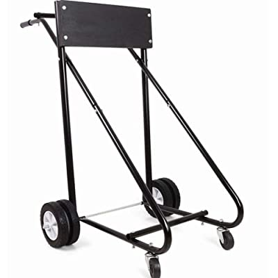 Heavy Duty Pro boat outboard motor carrier stand review