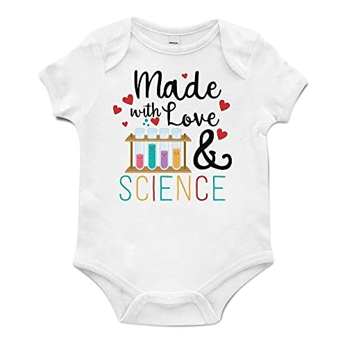 e6b564441 Amazon.com: IVF Onesie® Brand, Made With Love and Science Pregnancy  Announcement Gift: Handmade