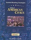 American Civics, Holt, Rinehart and Winston Staff, 0030676967