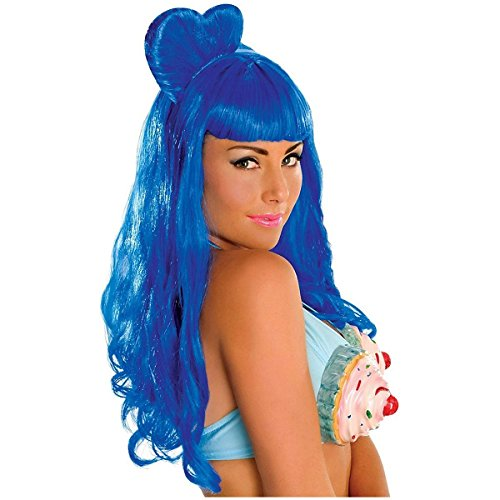 Rubie's Costume Katy Perry Wig, Blue, One Size -