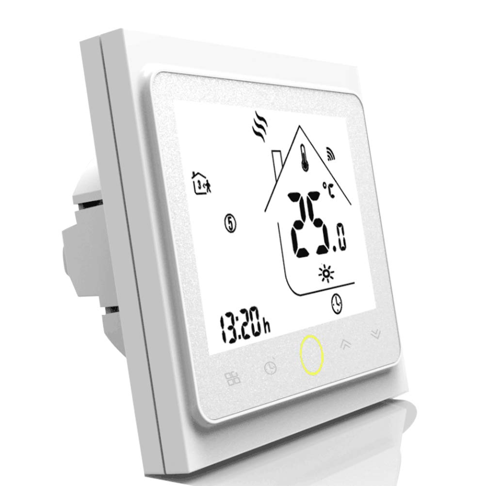 Smart WiFi Thermostat Temperature Controller for Floor Heating Electric Water with Alexa Google Home jiamiyun