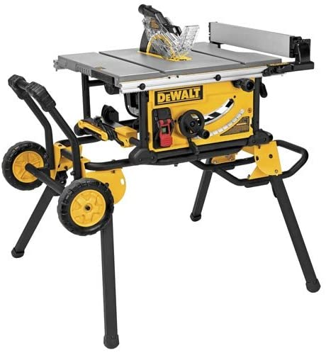 Best Hybrid Table Saw: DEWALT (DWE7491RS) 10-Inch Table Saw