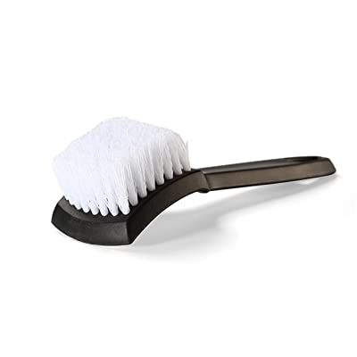Tire Brush, Stiff Bristle Wheel Cleaning Brush, Car Carpet Brush, Detail Brush: Automotive
