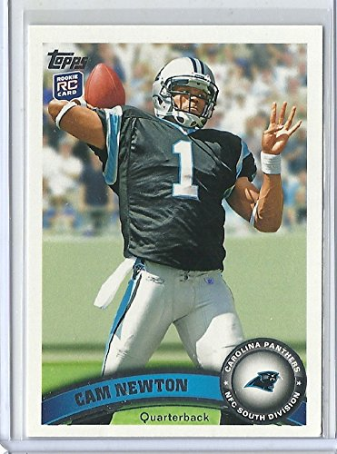 2011 Topps Football 200 Cam Newton Rookie Card