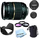 Tamron AF 28-75mm f/2.8 SP XR Di LD Aspherical (IF) Lens Bundle for Canon Digital SLR Cameras (Model A09E) - International Version (No Warranty)