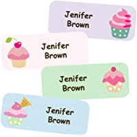 Adesivi Personalizzati Con Nome E Cognome | Adesivi Impermeabili Con Motivo Dolci (40)