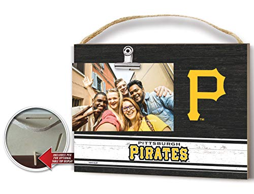 KH Sports Fan Clip It Colored Logo Photo Frame Pittsburgh Pirates]()