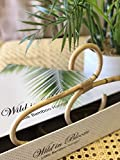 Little Bamboo Hanger, Childrens'; Baby, Bamboo, Rattan, Wooden Hangar or Coat Hanger Gift Set. Perfect as a Baby Shower Gift or for Infant, Toddler and Children's Nursery Decor: more info