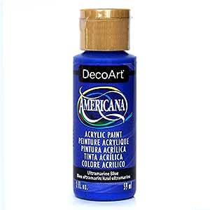 DecoArt Americana Acrylic Paint, 2-Ounce, Ultramarine Blue