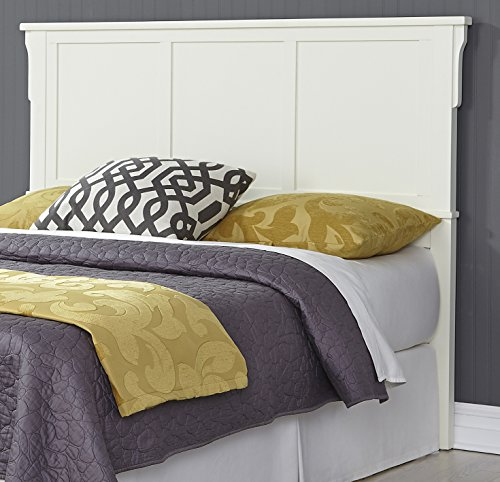 Style Wood Mission Headboard (Home Styles 5182-511 Arts & Crafts Bed Headboard Queen White)
