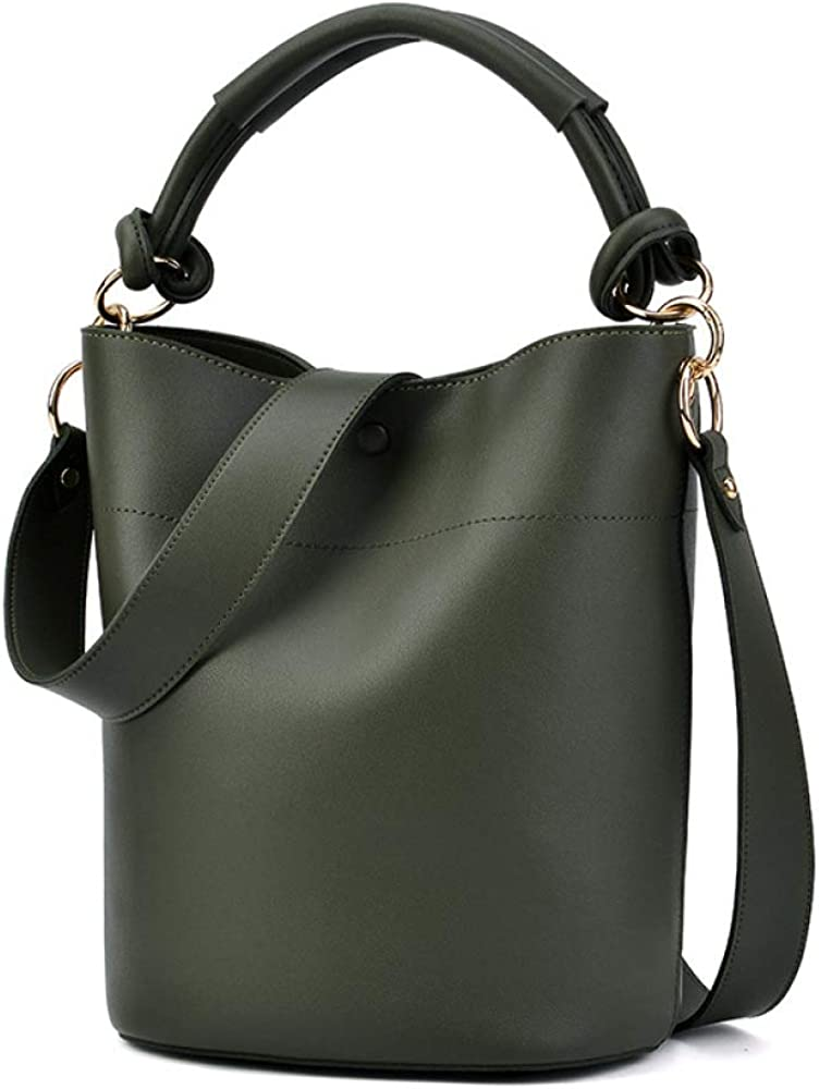 Fashion Casual Phone Coin Shoulder Bucket Bag Women Messenger Bags Solid Clutch Zipper Crossbody Mini Bag