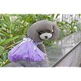 Dogs Kingdom Pet Dog Tutu Princess Dress Love Heart Print Bowknot Lace Party Clothes