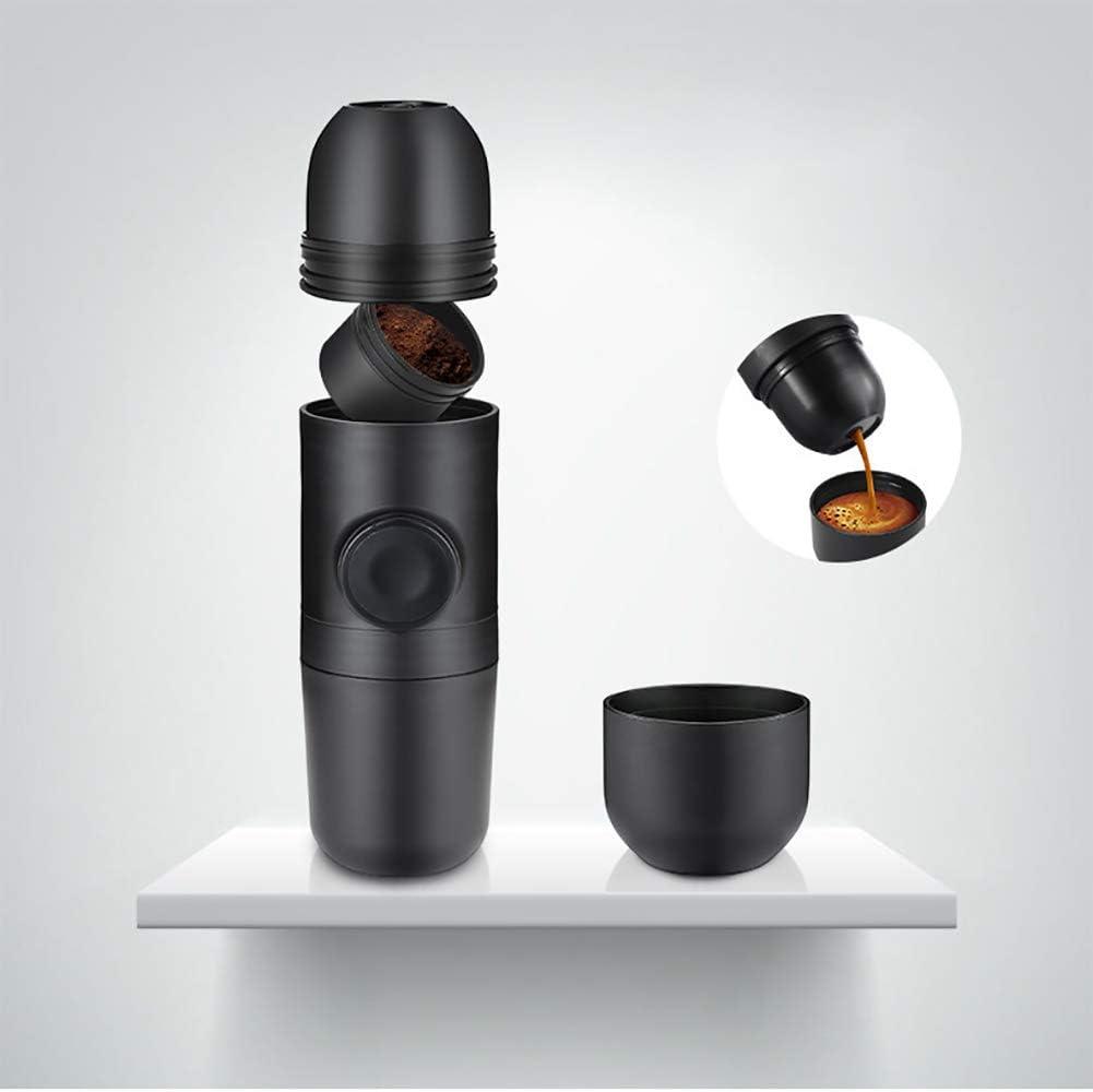 LIGHT Máquina de café Espresso portátil | Cápsula y café molido ...