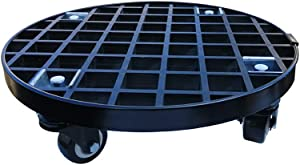 Xedragony Planter Caddy Plant Stand with Locking Wheels Heavy Duty Outdoor Indoor 13 Inch 450 Lbs Capacity
