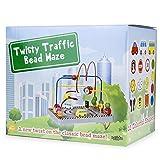 Wooden Wonders Twisty Traffic Bead Maze by Imagination Generation