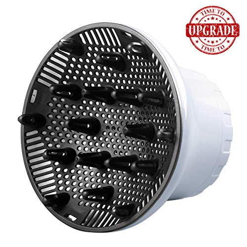 Hair Diffuser, Hair Dryer Diffuser Nozzle Dia. 1.38-2.68