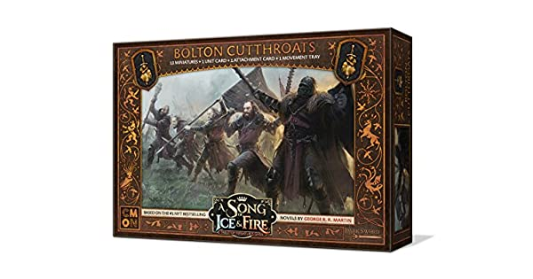 Bolton Cutthroats Unit Box SIF501 A Song of Ice /& Fire:Tabletop Miniatures Game