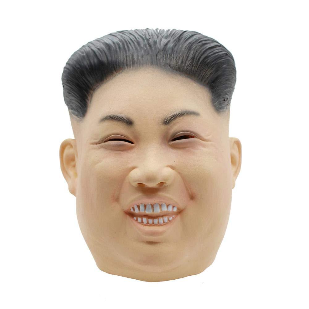 PartyCostume Máscara de Cabeza Humana de Fiesta de Traje Lujo de Halloween de Kim Jong - un