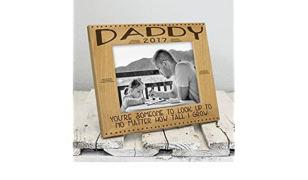 Amazon.com - Dad Frame - Look Up To Daddy - Fathers Day Gifts - Dad ...