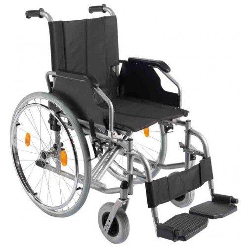 Trendmobil Rollstuhl TMB Faltrollstuhl Transportrollstuhl Reiserollstuhl mit Steckachsensystem - Sitzbreite 42 / 45 / 48 oder 51 cm nach Wahl - Personen Trans Porter