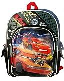 Disney Cars Boys Large Black School Backpack [Toy]