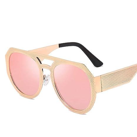 YWYU Nuevas Gafas de Sol Personalizadas con Gafas de Metal ...