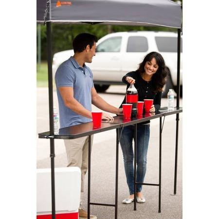 Ozark Trail Bar Height 10' Folding Canopy Table (Canopy Table)
