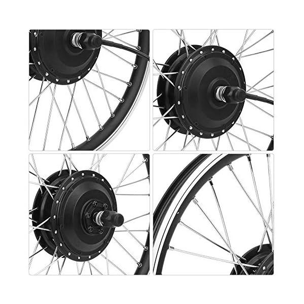 T best Kit di conversione per Bicicletta elettrica, Kit di conversione per mozzo per Bicicletta con Motore per… 7 spesavip