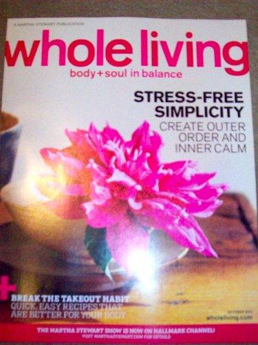 Whole Living Magazine (October 2010) (High Fashion Moisturizer)