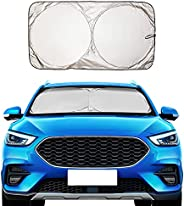 EcoNour Car Windshield Sunshade with Six Variations