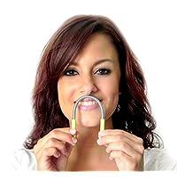 Removedor de vello facial Bellabe - El removedor de vello original hecho en los Estados Unidos. Para eliminar el vello del labio superior, la barbilla, las mejillas y el cuello.