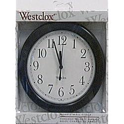 Salton 46991 Westclox Simplicity Black, 1,