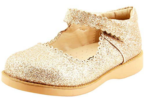 Girls Flat Classic (The Doll Maker Girl`s Classic Mary Jane- FBA173042A-12)