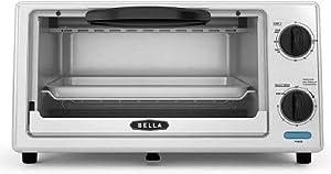 Bella 4-Slice Stainless Steel Toaster Oven