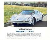 1979 Bradley GTE Electric Car Sales Brochure