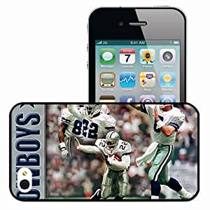 Personalized iPhone 4 4S Cell phone Case/Cover Skin 1579 dallas cowboys Black