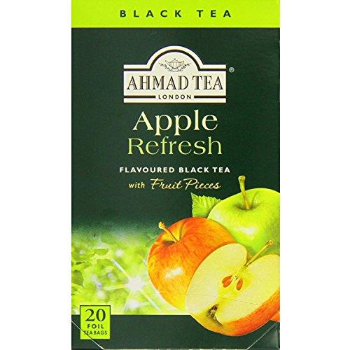 Ahmad Tea Apple Refresh (Pack of 1, Total 20 Aluminium Foil Envelopes) [Grocery]