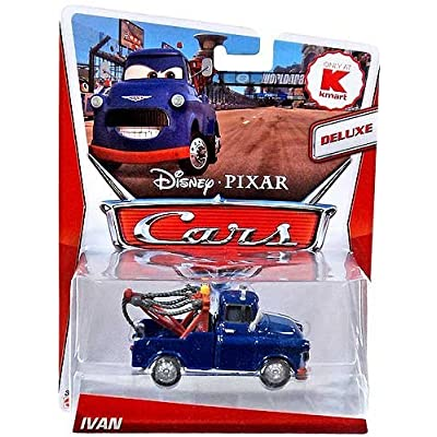 Disney / Pixar CARS MAINLINE Exclusive 1:55 Die Cast Car Deluxe Ivan: Toys & Games