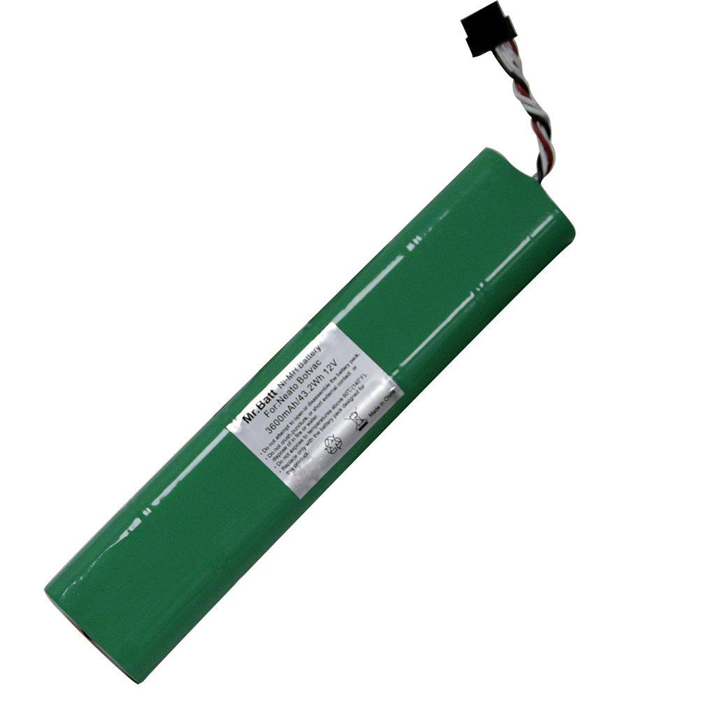 Mr.Batt 12V 3600mAh NiMH Replacement Battery Neato Botvac Battery for Neato Botvac D80 Battery and Botvac D Series Neato Botvac Battery 70e, 75, 80, 85, D75, D80, Botvac D85 Neato Robot Vacuum Cleaner