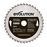 Evolution Power Tools Power Tools Wood Carbide-Tipped Blade, 255 mm