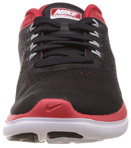 5 University Shoe Experience Metallic RN Red Nike Silver Black Running Flex wPSAzPnXqt