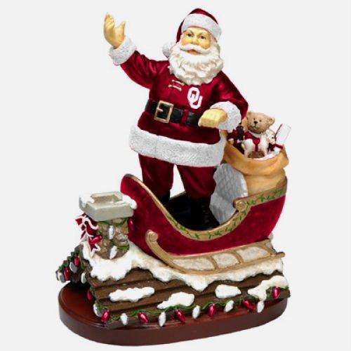 Oklahoma Rooftop Santa