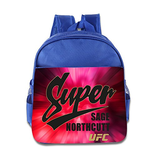 (SAGE NORTHCUTT UFC SUPER SCRIPT Kids School Backpack Bag)