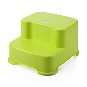 Awe Inspiring Amazon Com Lxla Child Plastic Step Stool Bathroom Non Slip Evergreenethics Interior Chair Design Evergreenethicsorg
