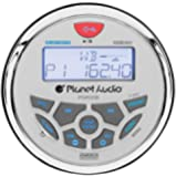 Planet Audio PGR35B Gauge MECH-LESS Multimedia Player (no CD or DVD), Receiver, with Audio Streaming