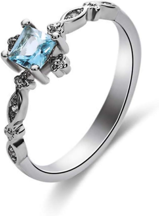 Personalized Metal Full Diamond Microinlaid Zircon Ring for Women Ladies Girls Anniversary Jewelry Gift Under 5 Dollar