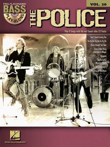 Bass Guitar Tab Cd (Bass Play-Along Volume 20 The Police Bass Guitar Tab Book/Cd (Hal Leonard Bass Play-Along) by VARIOUS (22-Jul-2010) Paperback)