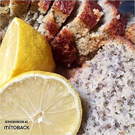 Backmischung I Low Carb I Zitronen Chia Kuchen I Glutenfrei I